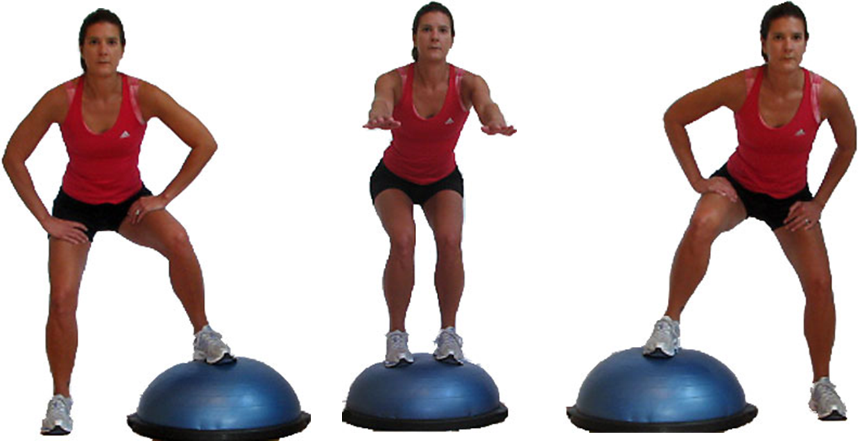 Fitness Concepts / Bosu Ball Workouts